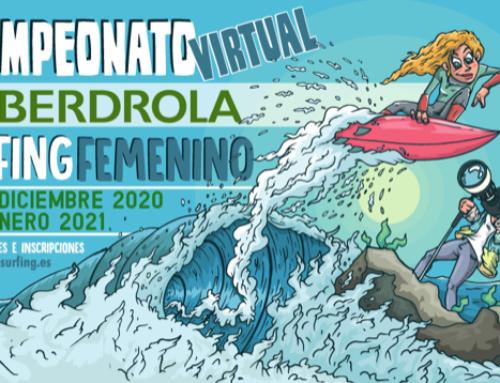Último día para inscribirse a la primera Competición Virtual Iberdrola de Surfing Femenino