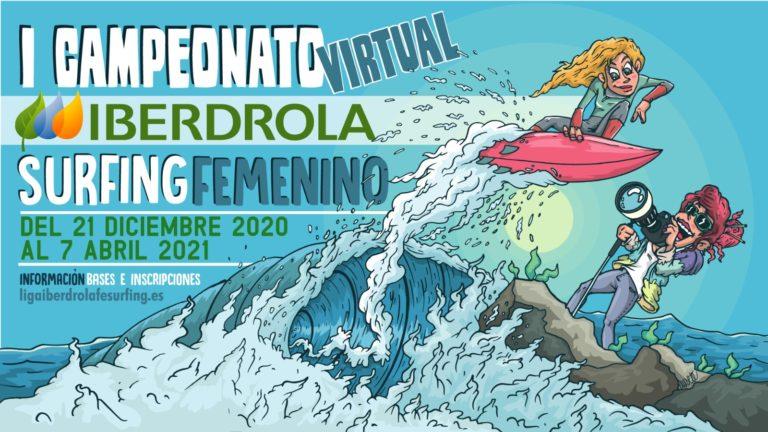 primera Competición Virtual Iberdrola de Surfing Femenino